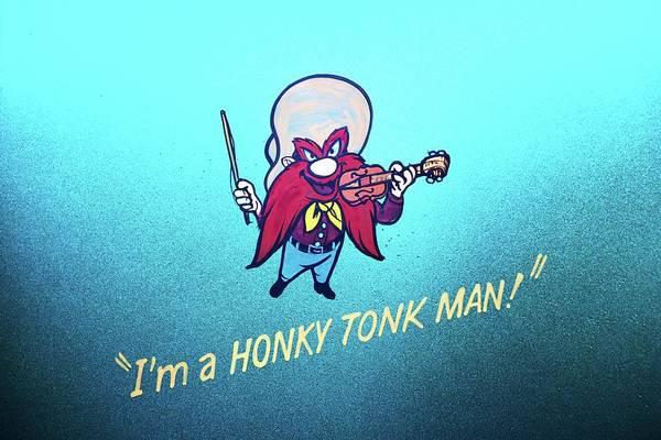 Wall Art - Photograph - Honky Tonk Man by James DeFazio