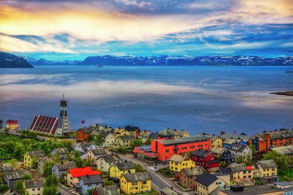 Wall Art - Photograph - Honningsvag Norway by Debra and Dave Vanderlaan