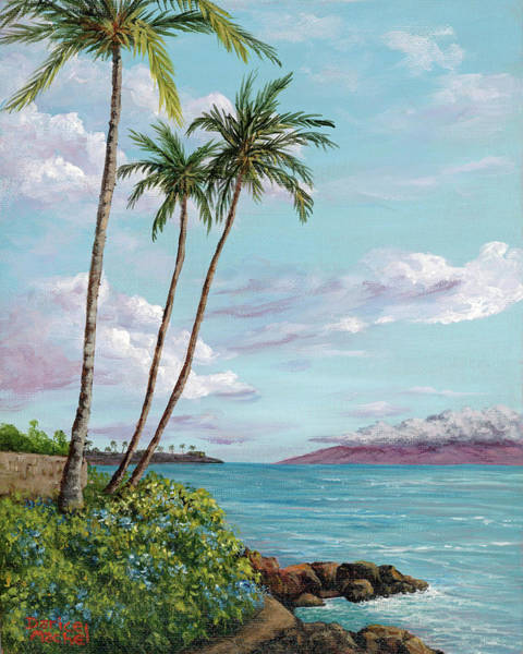 Painting - Honokeana Point by Darice Machel McGuire