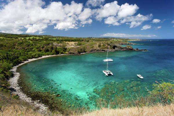 Kapalua Photograph - Honolua Bay In Maui by M Sweet