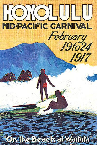 Pacific Digital Art - Honolulu by Long Shot