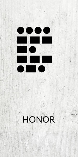 Wall Art - Digital Art - Honor Morse Code 2- Art By Linda Woods by Linda Woods