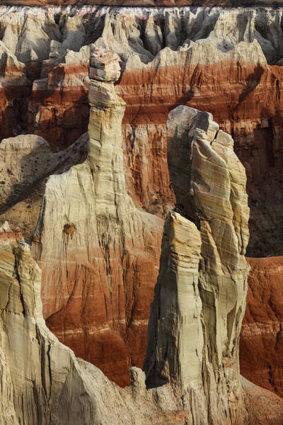Wall Art - Photograph - Hoodoo, Coal Mine Canyon Near Tuba by Adam Jones