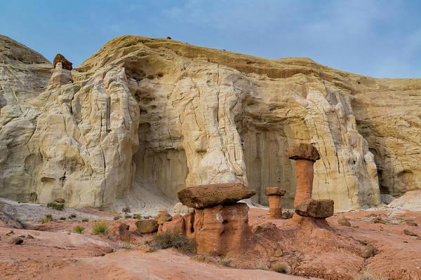 Wall Art - Photograph - Hoodoo Sandstone Landscape, Grand by Howie Garber