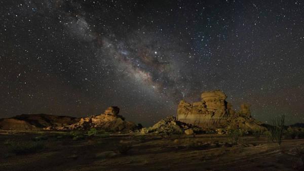 Photograph - Hoodoos Sleeping Under The Stars by Harriet Feagin
