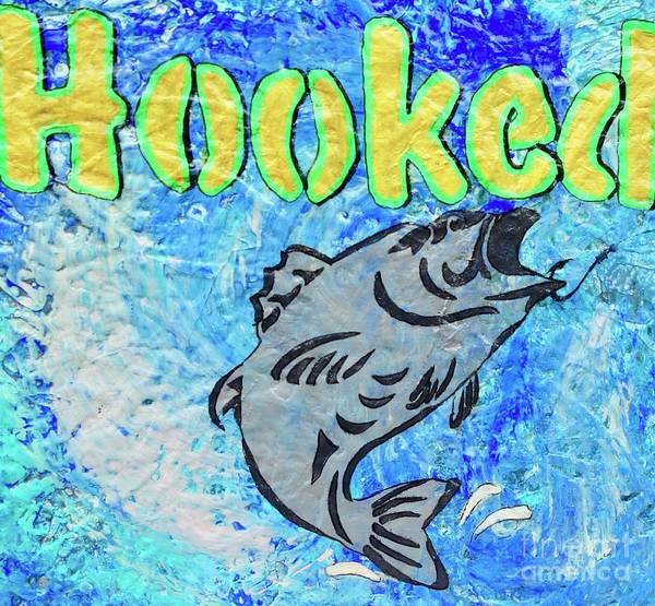 Painting - Hooked by Jacqueline Athmann