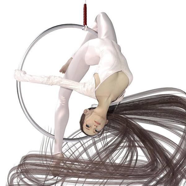 Wall Art - Digital Art - Hoop Dancing Spirit by Betsy Knapp