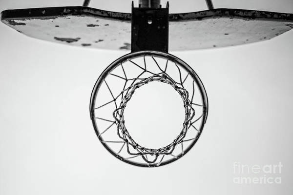 Hoop Photograph - Hoop Dreams by Edward Fielding