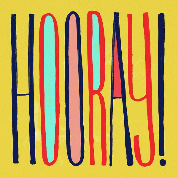 Painting - Hooray by Jen Montgomery