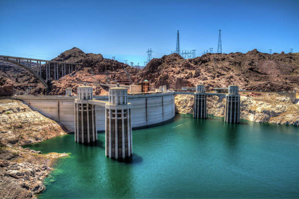 Wall Art - Photograph - Hoover Dam - Arizona by Vineeth Mekkat
