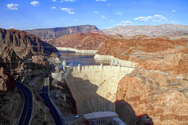 Wall Art - Photograph - Hoover Dam by Donna Kennedy