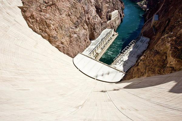 Wall Art - Photograph - Hoover Dam Landmark Usa by Mlenny