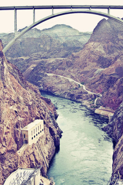 Wall Art - Photograph - Hoover Dam Nevada by Gnl Media