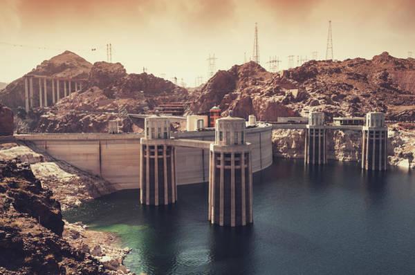 Wall Art - Photograph - Hoover Dam by Shaunl