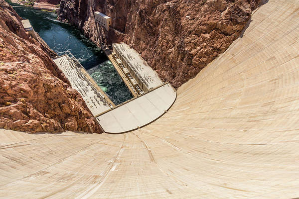 Photograph - Hoover Dam by SR Green