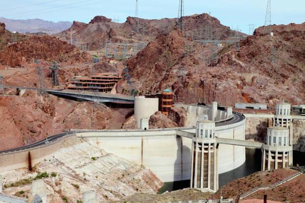 Wall Art - Photograph - Hoover Damn In Desert Landscape by Cultura Exclusive/jesper Mattias