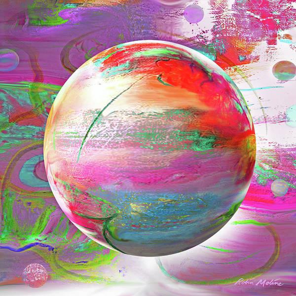 Digital Art - Hope On A Wave by Robin Moline