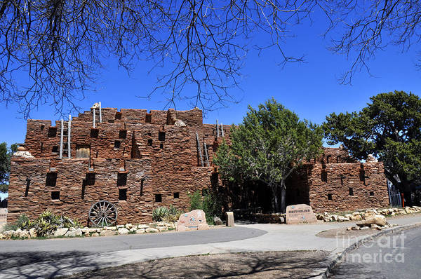 Wall Art - Photograph - Hopi House by Andrew Dinh