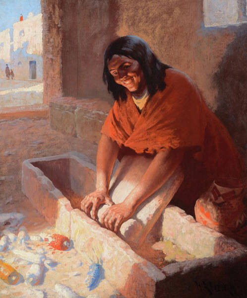 Wall Art - Painting - Hopi Woman, 1910 by William Robinson Leigh