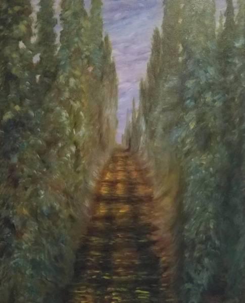 Wall Art - Painting - Hops Field by Joann Renner
