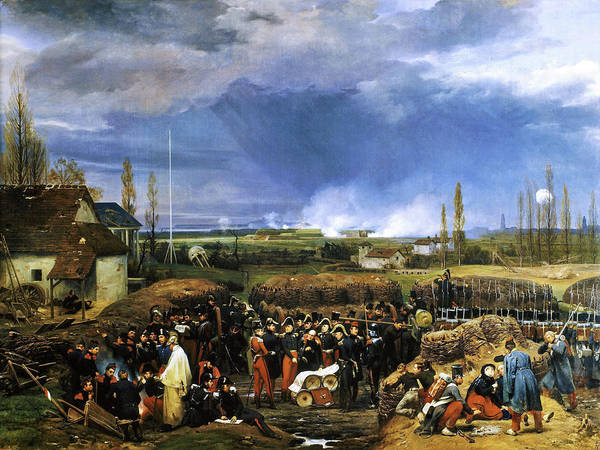 Wall Art - Painting - Siege Of The Citadel Of Antwerp, December 22nd 1832 - Digital Remastered Edition by Horace Vernet