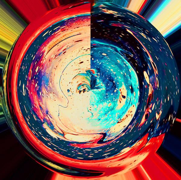 Time Traveler Mixed Media - Horizon by Raquel Gregory