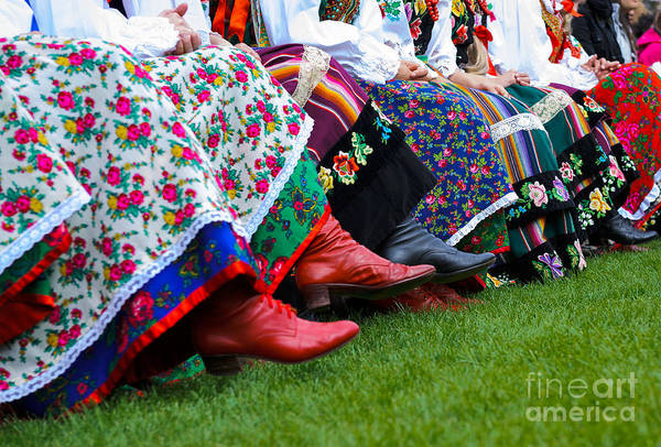 Cross Country Photograph - Horizontal Color Image Of Traditional by Abo Photography