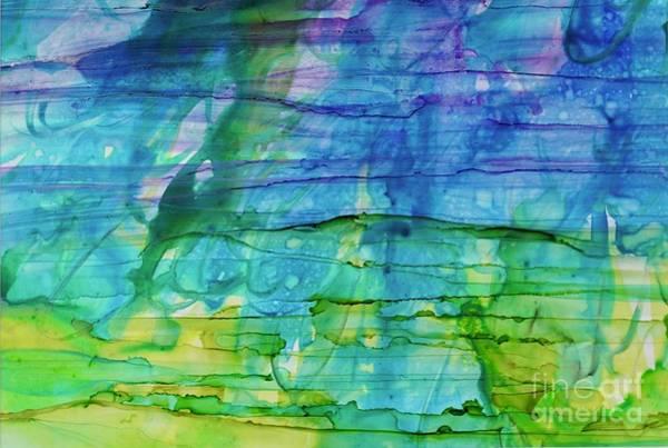 Painting - Horizontal Sea Of Wonder by Christine Chin-Fook
