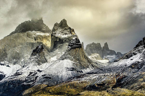 Inspirational Photograph - Horns And Towers In The Clouds by Inspirational Images By Ken Hornbrook