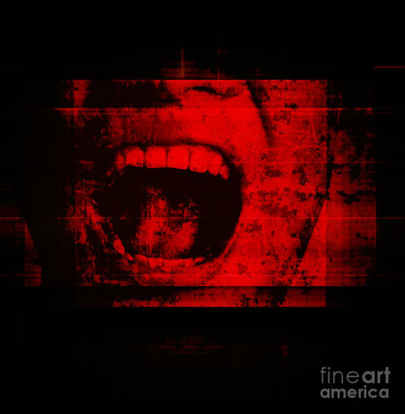 Haunted Wall Art - Photograph - Horror Background For Movies Poster by Joe Therasakdhi