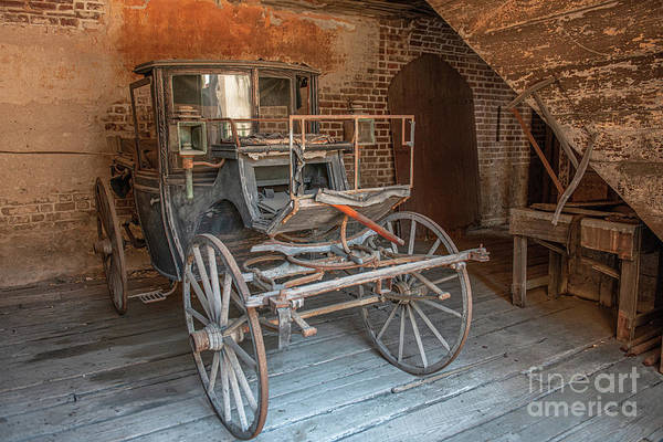 Photograph - Horse Carriage - Aiken Rhett House by Dale Powell