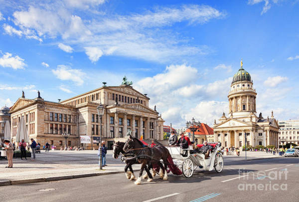 Wall Art - Photograph - Horse-drawn Carriage Ride In Berlin, Germany by Colin and Linda McKie