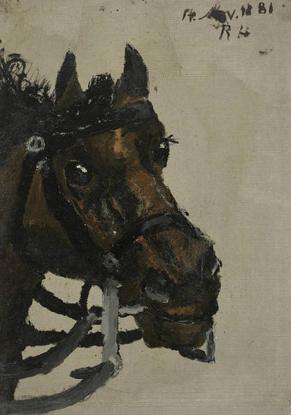 Painting - Horse Head by Richard Roland Holst