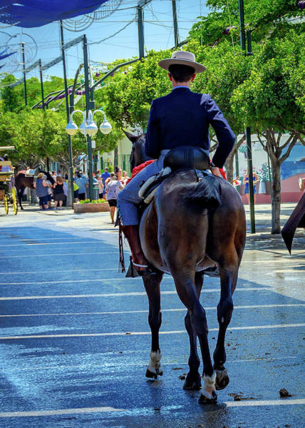 Photograph - Horse Rider II by Borja Robles