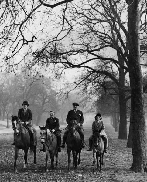 Girl And Horse Photograph - Horse Riding by Derek Berwin