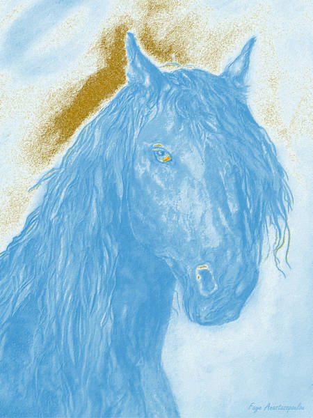 Wall Art - Painting - Horse Spirit by Faye Anastasopoulou