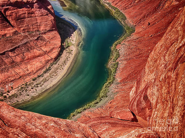 Geological Wall Art - Photograph - Horseshoe Bend, Arizona. Wonderful by Gagliardiphotography