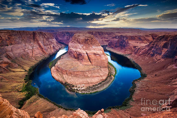 Wall Art - Photograph - Horseshoe Bend, Canyon And Colorado by Ronnybas Frimages