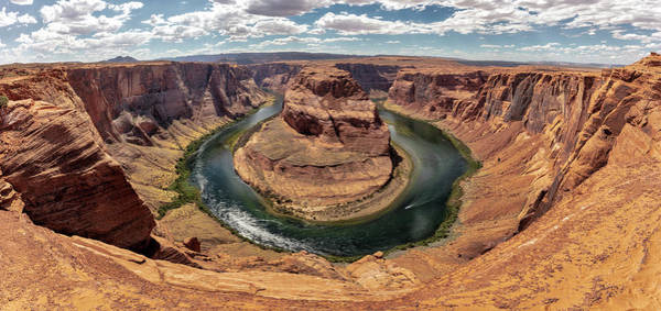 Wall Art - Photograph - Horseshoe Bend Panoramic 2019 In Color by Robert Hayton