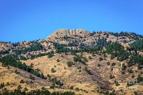 Photograph - Horsetooth Rock by Jon Burch Photography