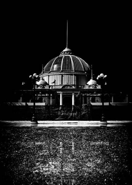 Photograph - Horticultural Building Exhibition Place Toronto Canada Reflectio by Brian Carson