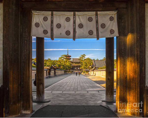 Wall Art - Photograph - Horyu-ji Temple In Nara, Unesco World by Luciano Mortula - Lgm