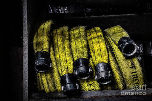 Photograph - Hose Rack by Jim Lepard