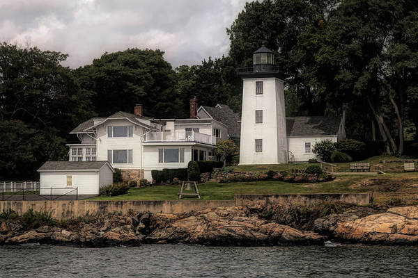 Photograph - Hospital  Range Light From The Water by Jeff Folger