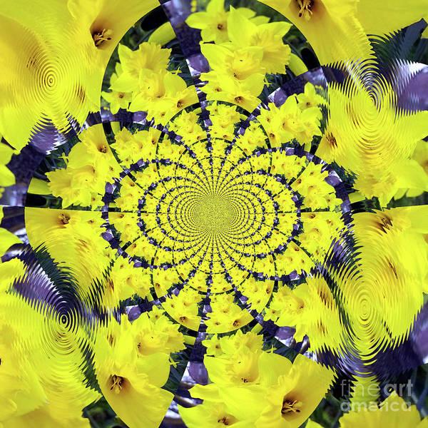 Wall Art - Digital Art - Host Of Daffodils by Merice Ewart