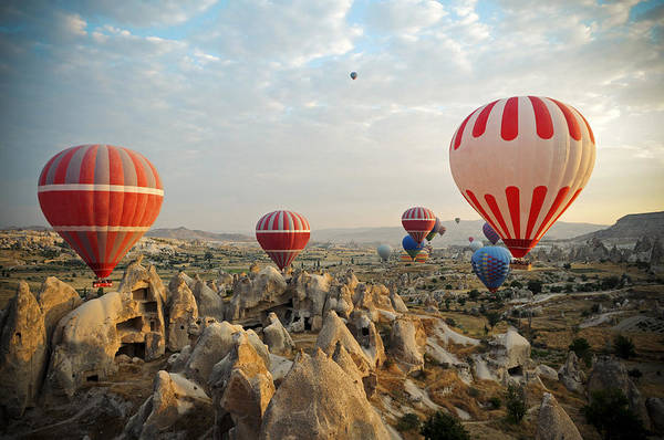 Nevsehir Photograph - Hot Air Ballons Of Cappadocia by 1001nights