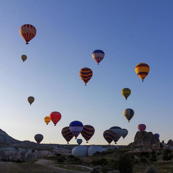 Cappadocia Photograph - Hot Air Ballons by Pilar Azaña Talán
