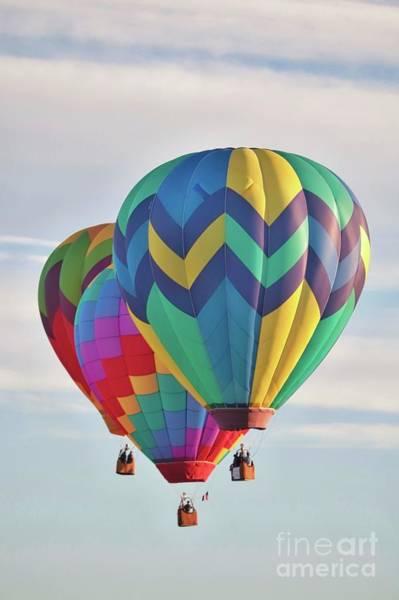 Wall Art - Photograph - Hot Air Balloon Buddies by Carol Groenen
