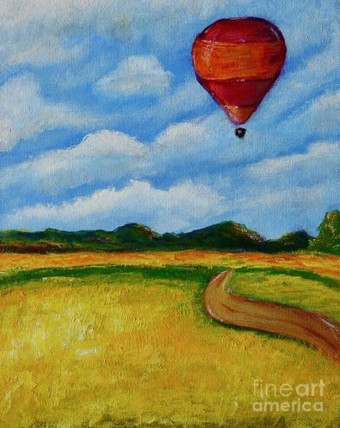 Painting - Hot Air Balloon by Jacqueline Athmann