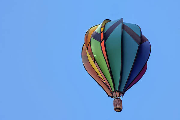 Photograph - Hot Air Balloon by Jim Shackett